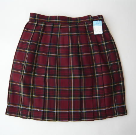 KURI-ORI スクールスカートクリオリ チェックプリーツスカート