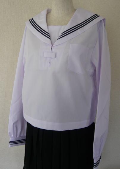 長袖セーラー服(白衿) KURI-ORI クリオリ