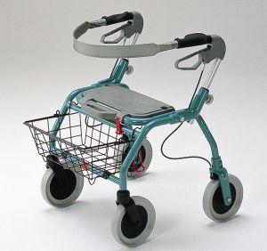 四輪歩行車 オパル2000[15%OFF][歩行車][安定感][大型タイヤ][軽量][小回り]