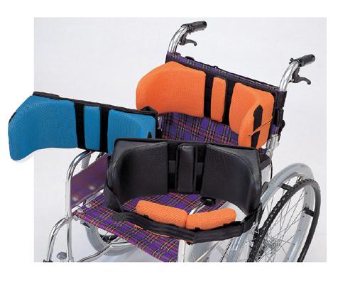 ボディサポートBSW5(Lサイズ)[今だけ15%OFF!!]車いすはもちろん、食卓の椅子や座椅子に座った姿勢をしっかりサポート! ボディサポートBSW5(Lサイズ)[15%OFF][車いす用][座椅子用][姿勢保持][取り外し簡単]