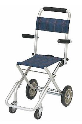 日本 在庫あり コンパックン 20%OFF 旅行やお買い物 ちょっとしたお出かけに 軽くてコンパクトな持ち運びできるアルミ製車椅子 車いす 軽量 介助用 携帯用