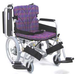 カワムラサイクルKA816-40(38・42)B-中床M(低床LO/超低床SL)介助用脚部スイングイン・アウト車椅子