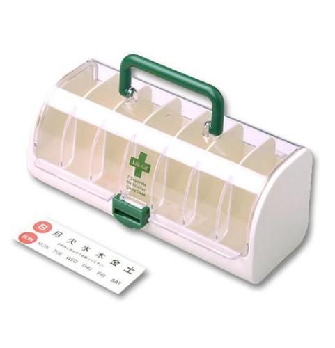 醫學組織攜帶式儀器箱 [關閉 10%]、 [一周] 用藥 [可擕式] [飲酒預防遺忘] 長期護理設施