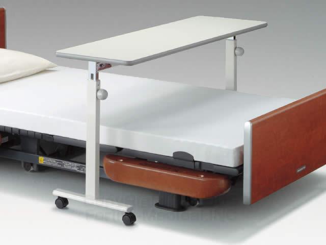 オーバーベッドテーブル(91cm幅対応型 KF-813)[20%OFF][介護テーブル][キャスター付][高さ調節][パラマウントベッド]
