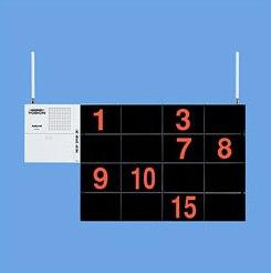YOBION(ヨビオン) ECE3157小電力型ワイヤレスサービスコール(シンプルタイプ)増設表示器パナソニック電工[20%OFF][呼出装置][無線][省エネ][介護施設][病院]