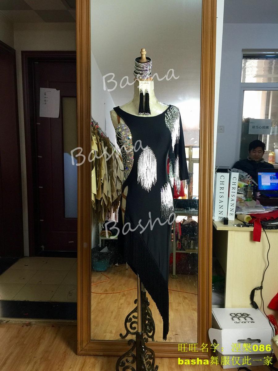 競技ダンス 社交ダンス ラテン ドレス ウエア ワンピース レディース セミオーダー オーダードレス ダンス 衣装 送料無料 Shanze シャンゼ