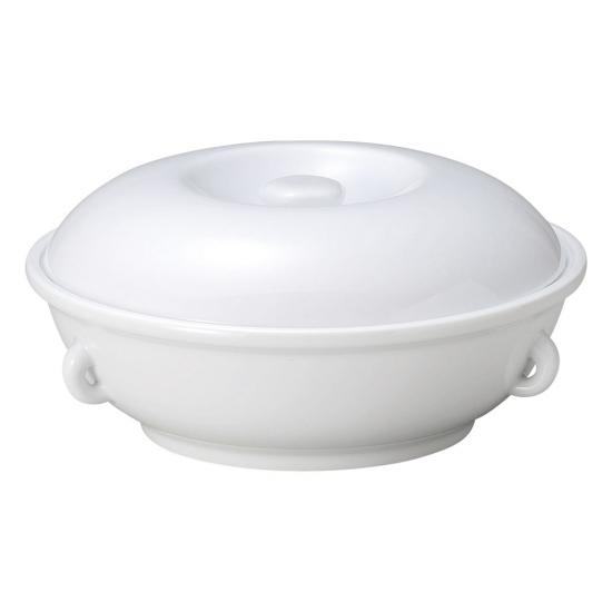 ウルトラホワイト中華 10吋とんき 中華食器 トンキ 業務用 磁器 白 25.5cm 高級中華 ホテル スープ 薬膳スープ