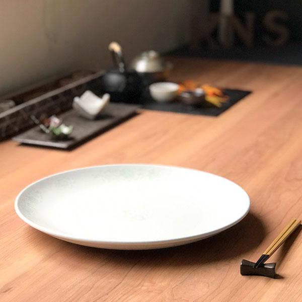 夢彩華 14吋丸皿 皿 プレート ディナプレート 大皿 中華食器 丸皿 30cm以上 業務用
