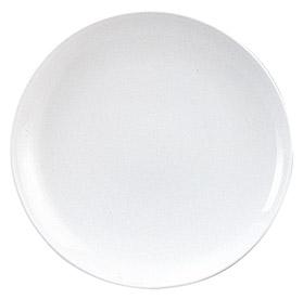 """スーパーチャイナ16""""丸皿 おしゃれ スタイリッシュ 皿 プレート ディナプレート 大皿 中華食器 丸皿 30cm以上 業務用"""