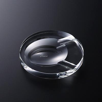 シガーアッシュトレイ ラウンド ガラス 灰皿 業務用 約135mm