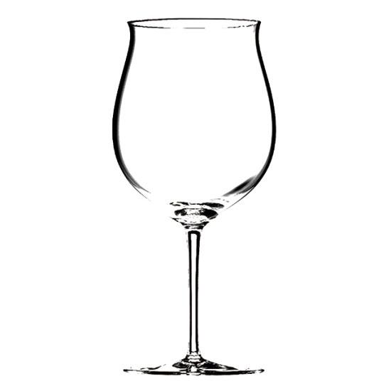 ソムリエ ブルゴーニュ・グラン・クリュ 4400/16 ガラス ワイン 業務用 約約92(最大115)mm