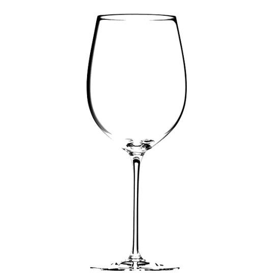 ソムリエ ボルドー・グラン・クリュ 4400/00 ガラス ワイン 業務用 約約81(最大106)mm