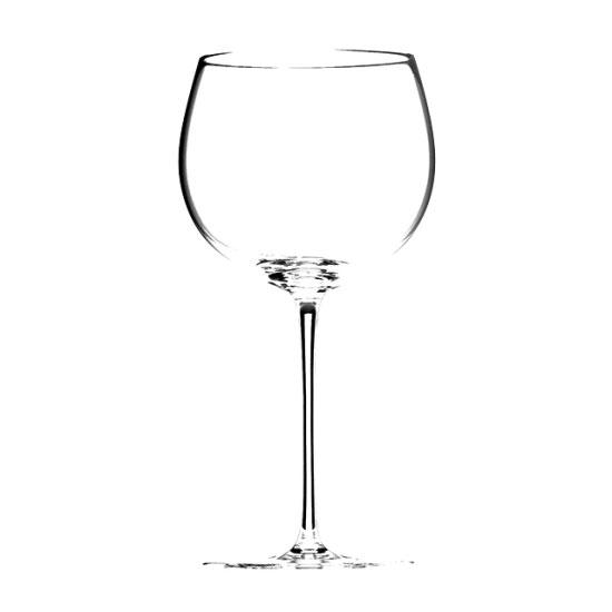 ソムリエ モンラッシェ シャルドネ 4400/7 ガラス ワイン 業務用 約約82(最大102)mm