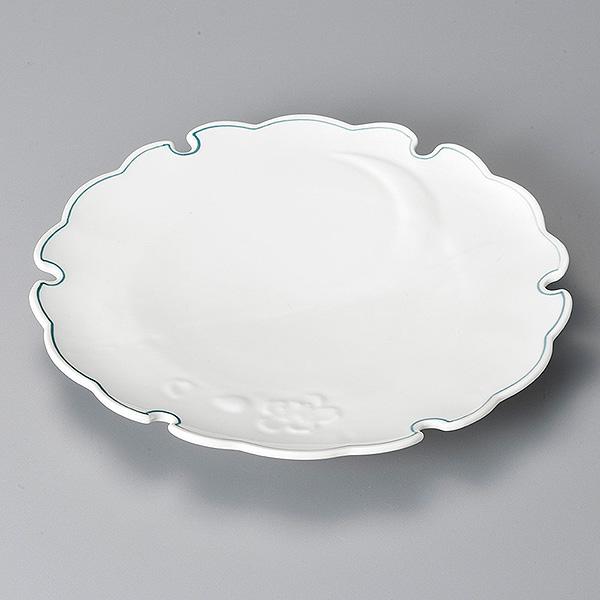 雪月花 ヒワ筋 大皿 和食器 丸皿(大)25cm~30cm 業務用:業務用食器専門 みんなの倉庫
