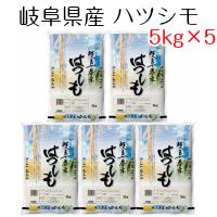 米 お米 白米 岐阜県産 ハツシモ 25kg(5kg×5) 令和元年産 送料無料(北海道・沖縄は除く)