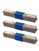 商品名:MIKASAリサイクルトナー参考型名:TNR-C4H大容量リサイクルトナーよりどり3色セット