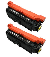 カートリッジ323 イエロー 純正新品トナー2本セット(LBP7700C)(キヤノン)