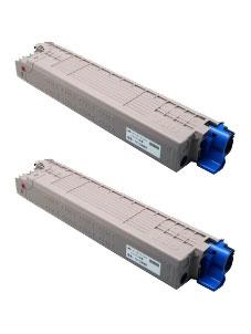 商品名:MIKASAリサイクルトナー参考型名:TC-C3BM2 マゼンタ リサイクルトナー2本セット(沖データ)(C835dnw/C835dnwt/C844dnw)<リターン方式>