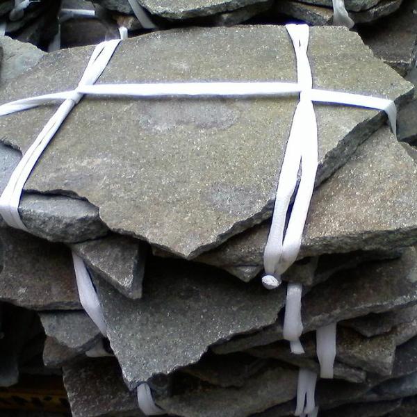 乱形石乱貼用 乱形石材 約0.4平米諏訪鉄平石上鉄平石・敷石庭・アプローチ・ガーデン