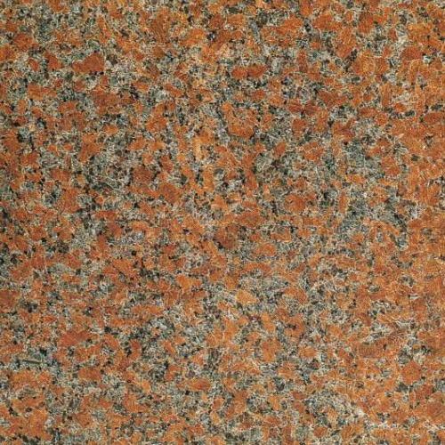 御影石天然石材・外壁・内壁・内部床・敷石等【1枚販売】 赤御影石材敷石G562本磨  600角t20