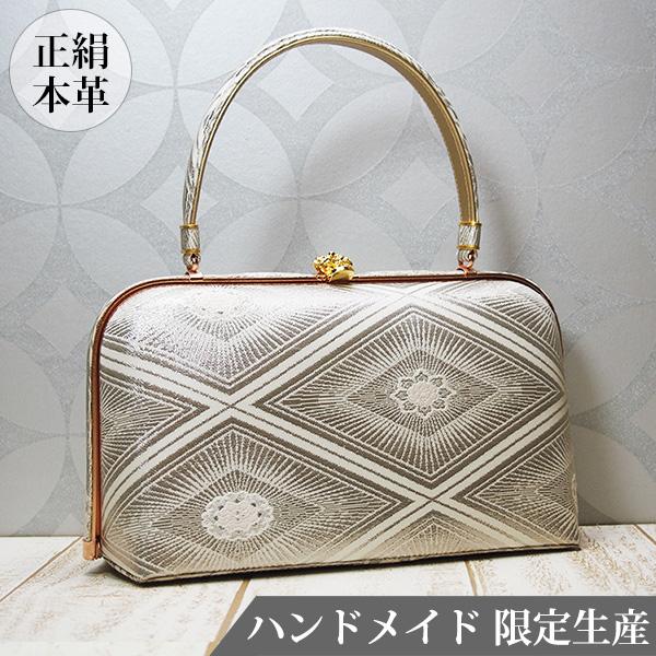 和装バッグ 和 バッグ 正絹 日本製 着物用 MINOTOFU HMWC-b