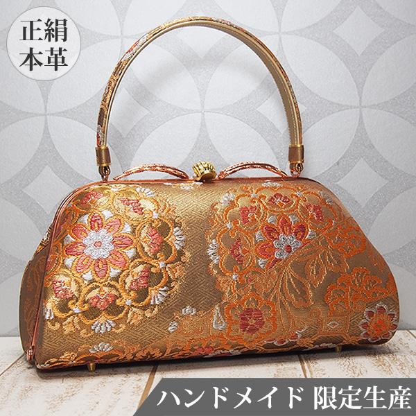 和装バッグ 和 バッグ 正絹 日本製 着物用 MINOTOFU HMWG-a
