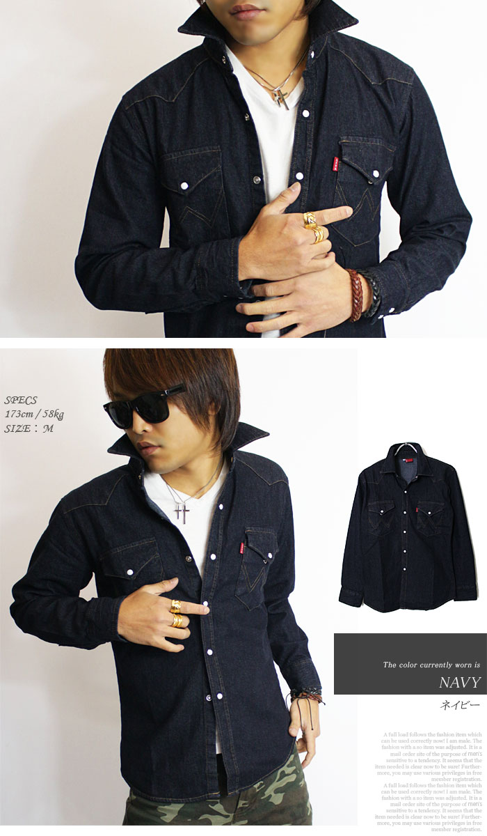 9982215192 ... Western denim shirt denim shirt denim long sleeve shirt 7 minutes  Dungarees mens short Safari wash ...