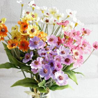 花 花束 リアル ギフト お祝い ミニ おすすめ おしゃれ わすれな草 インテリア 造花 観葉植物 未触媒 VD 4本 毎日がバーゲンセール 上質 4478 フェイクグリーン 器なし