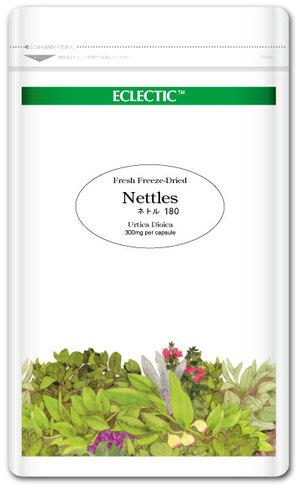 【送料無料】 ECLECTIC(エクレクティック) ネトル(イラクサ) Ecoパック 180カプセル R ec034 花粉の季節に