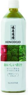 【オーサワジャパン】 健康道場・おいしい青汁(ペットボトル)6本セット