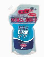 PH12.5の強アルカリ洗浄水 汚れ落とし、除菌・抗菌に 無刺激  超電水クリーン シュ!シュ!(詰替用:1L)(超電水クリーンシュシュ)