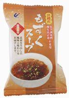 沖繩從 mozuku 使用熱水澆和方便柑橘香味突出從 mozuku 紫菜湯 (評論運動)