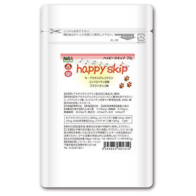ペット用グルコサミン ノラオリジナルズ ハッピースキップ vd131 プラス ●日本正規品● 大幅にプライスダウン 20g