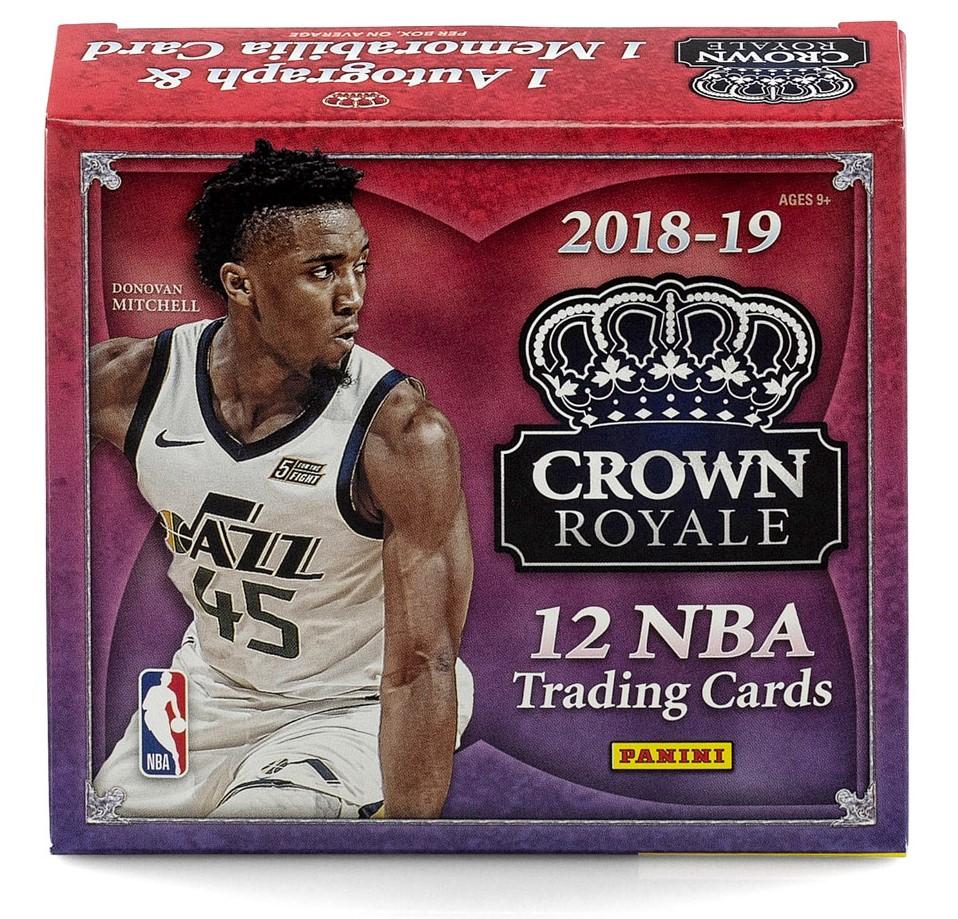 NBA 2018-19 CROWN ROYALE BASKETBAL[ボックス]
