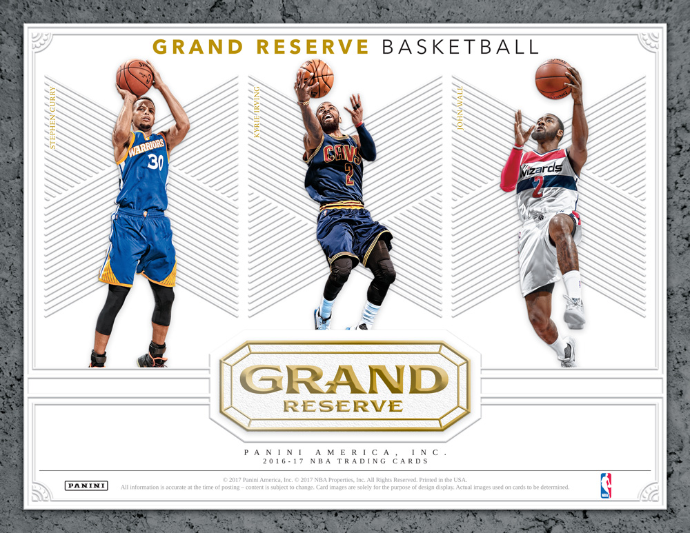 送料無料 NBA 1617 PANINI GRAND RESERVE BASKETBALL[ボックス](34-90523)