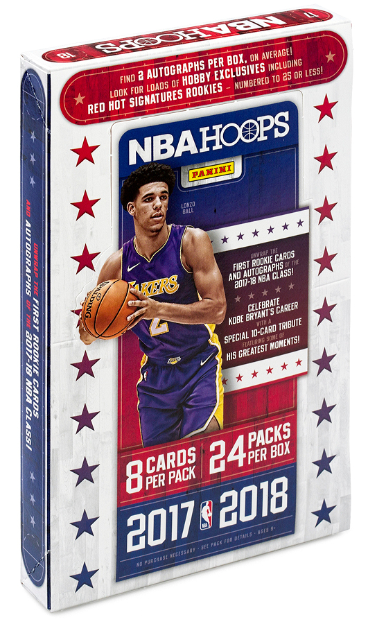 NBA 2017-18 PANINI HOOPS BASKETBALL HOBBY[ボックス]