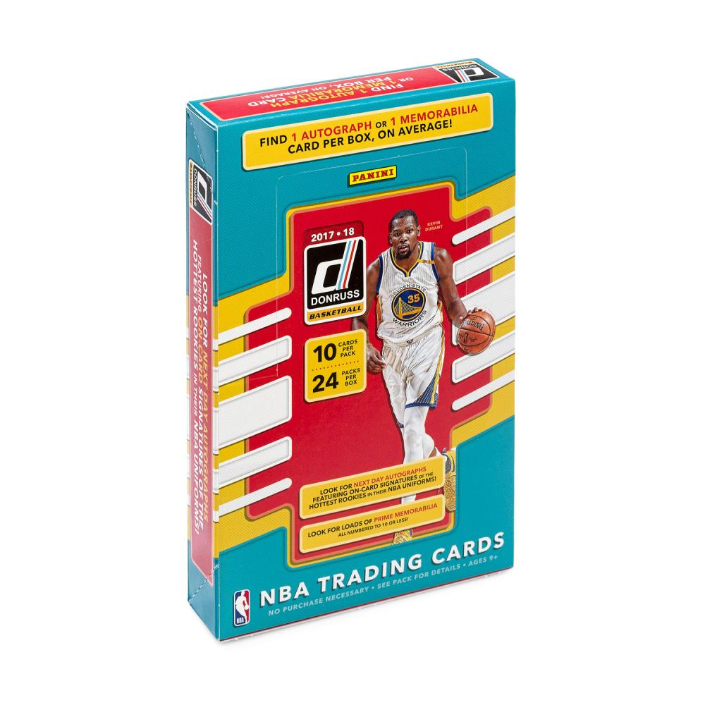 NBA 2017-18 PANINI DONRUSS BASKETBALL HOBBY[ボックス]