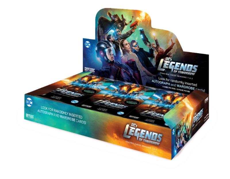 ◆予約◆ CRYPTOZOIC DC COMICS LEGENDS OF TOMORROW 1&2[ボックス]