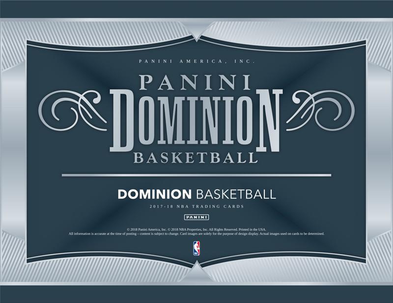 NBA 2017-18 PANINI DOMINION BASKETBALL[ボックス]