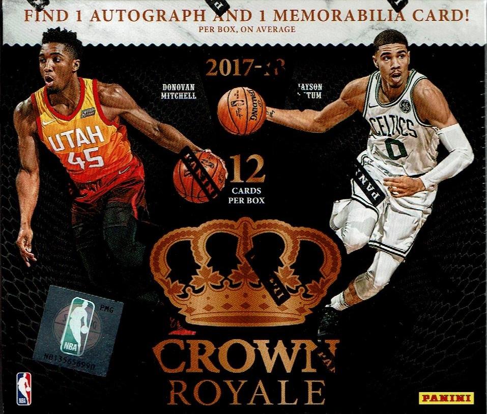 NBA 2017-18 PANINI CROWN ROYALE BASKETBALL[ボックス]