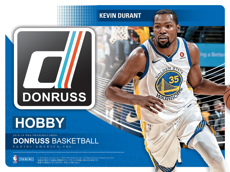 NBA 2018-19 PANINI DONRUSS BASKETBALL HOBBY[ボックス]