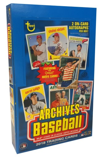 MLB 2018 TOPPS ARCHIVES BASEBALL[ボックス]