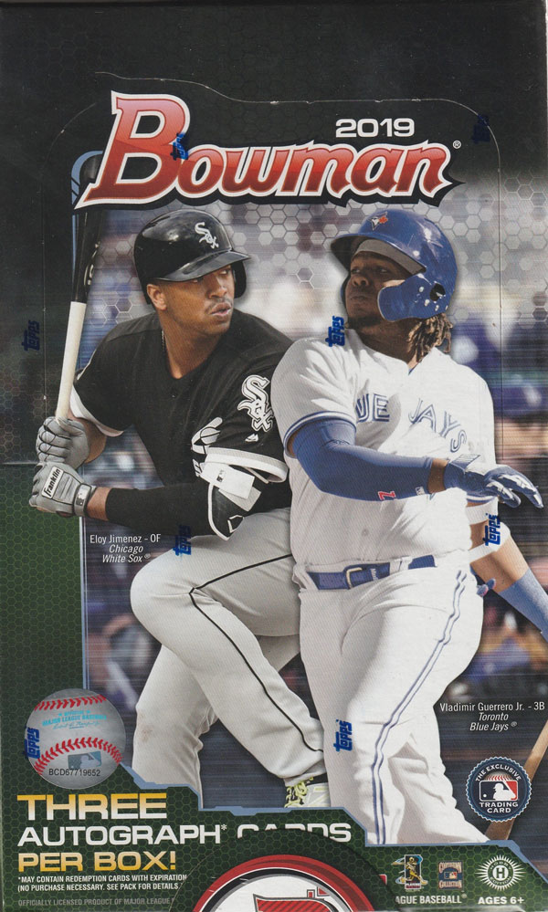 MLB 2019 BOWMAN BASEBALL JUMBO[ボックス]