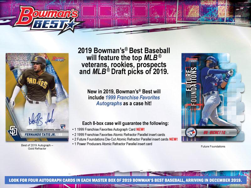 MLB 2019 BOWMAN'S BEST BASEBALL[ボックス]