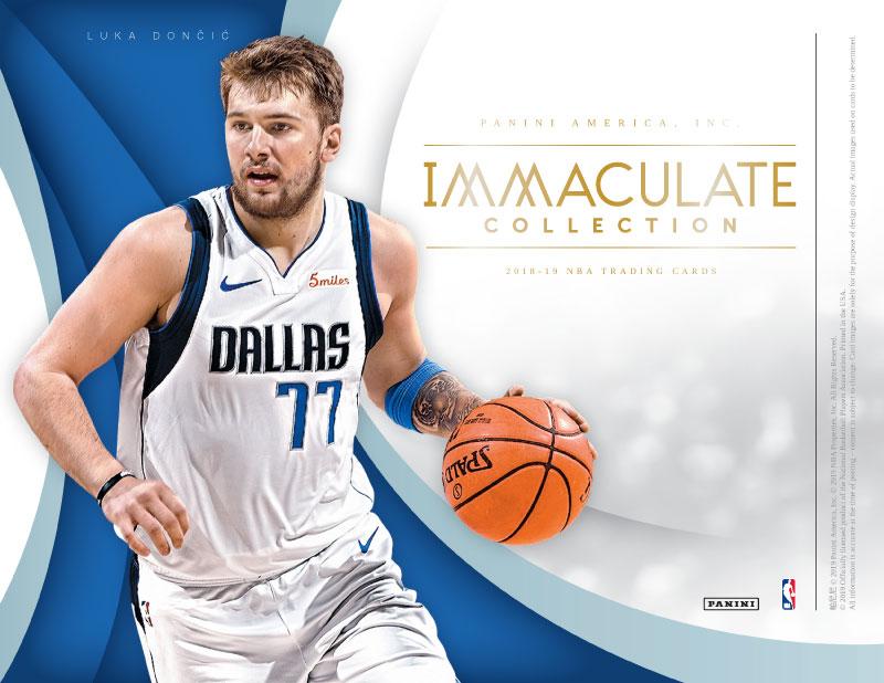 NBA 2018-19 PANINI IMMACULATE BASKETBALL[ボックス]