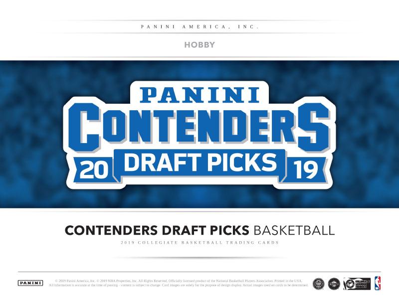 2019 PANINI CONTENDERS DRAFT PICK BASKETBALL ドラフトピック&大学バスケット[ボックス]