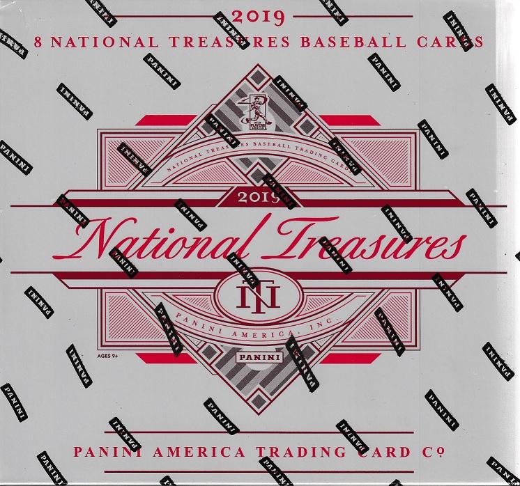 2019 PANINI NATIONAL TREASURE BASEBALL
