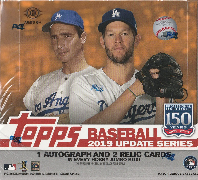MLB 2019 TOPPS UPDATE SERIES HTA JUMBO[ボックス]
