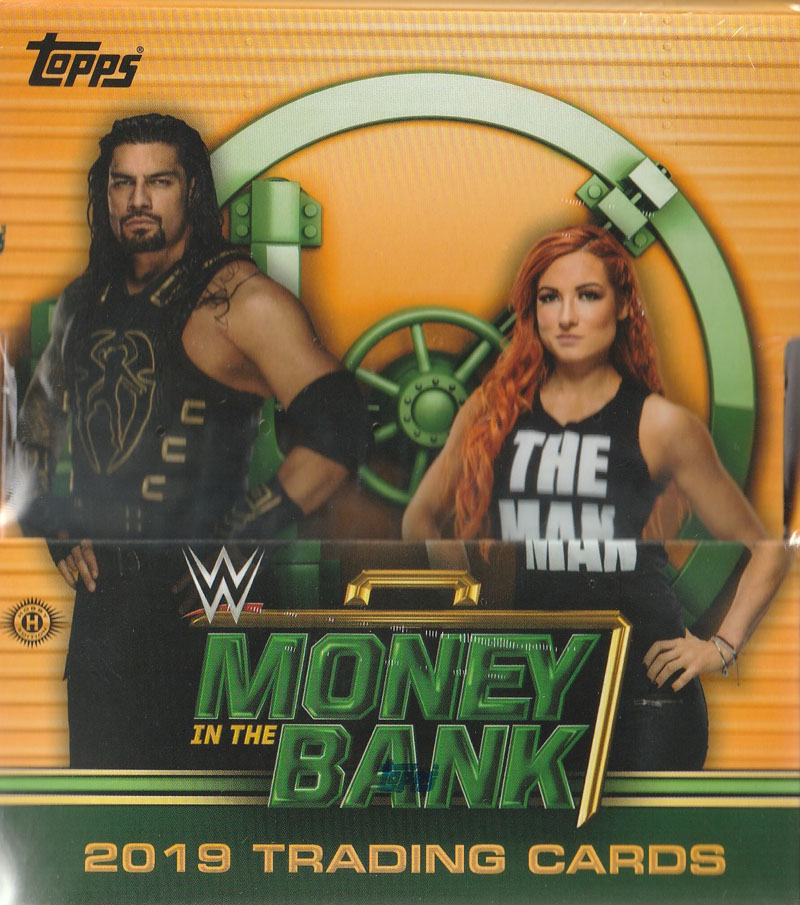 WWE 2019 TOPPPS MONEY IN THE BANK[ボックス]