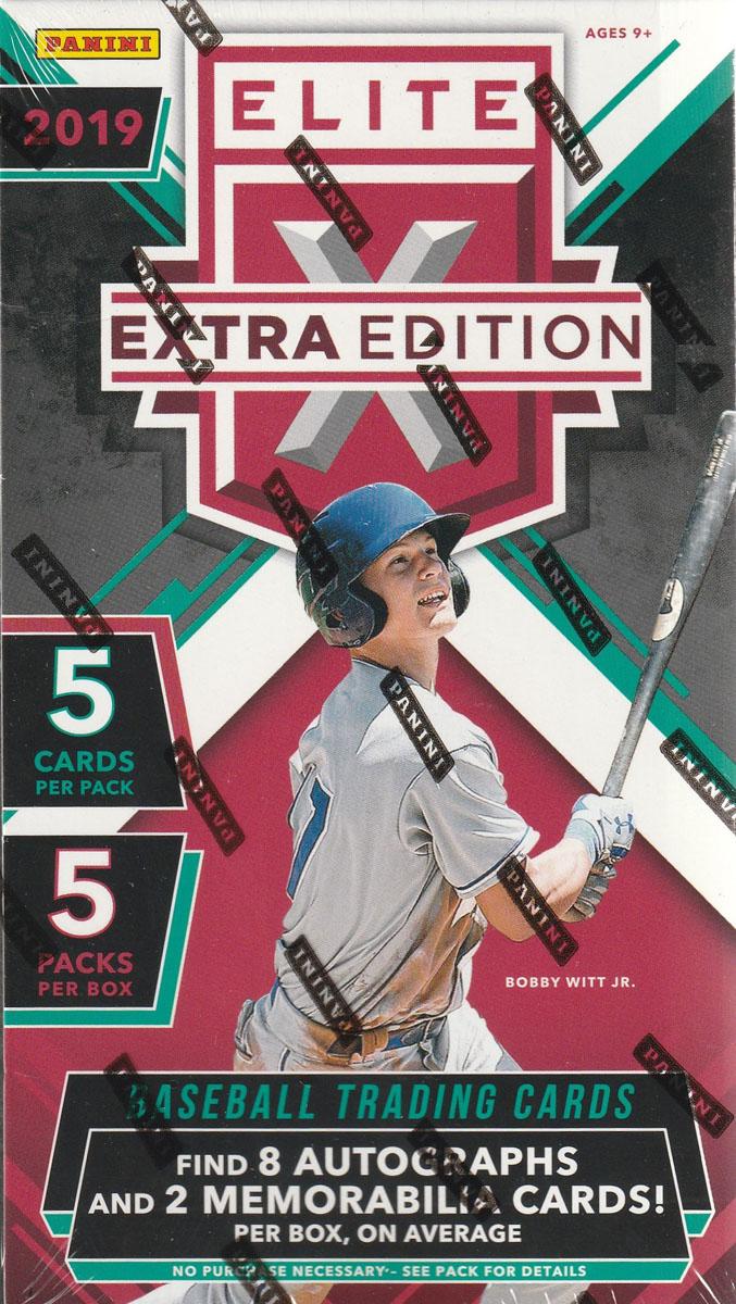 MLB 2019 PANINI ELITE EXTRA BASEBALL[ボックス]